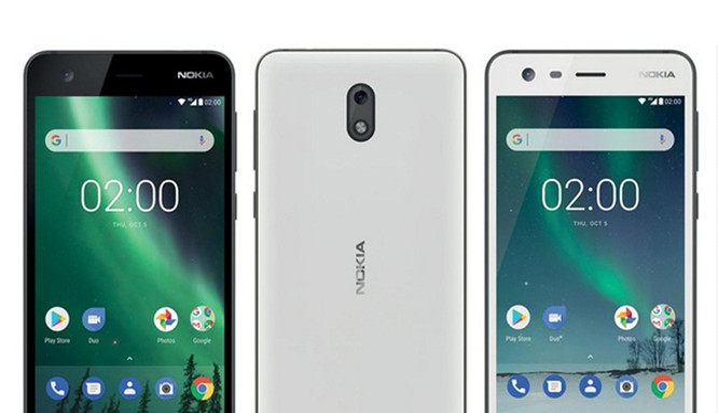 ảnh dựng Nokia 2 (Twitter Evan Blass)