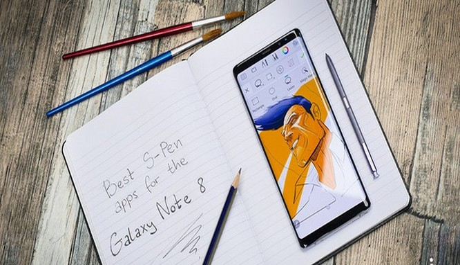 Bút S-Pen là một tính năng nổi bật của dòng Galaxy Note (ảnh: Phone Arena)