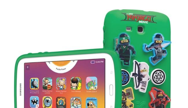 Máy tính bảng Galaxy Kids NINJAGO MOVIE Edition (ảnh: Phone Arena)