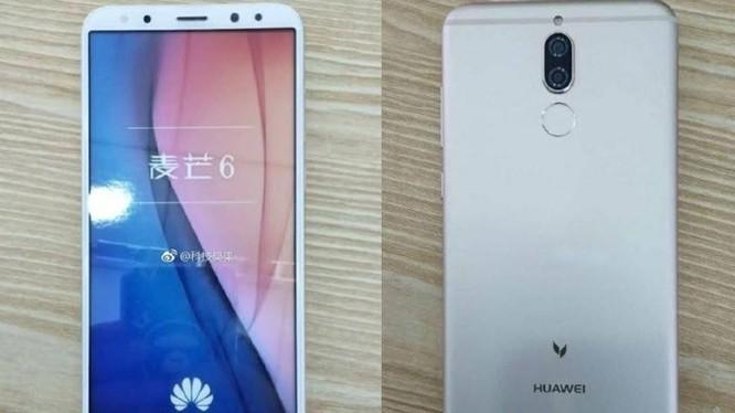 Hình ảnh rò rỉ Huawei G10 (ảnh: Weibo)