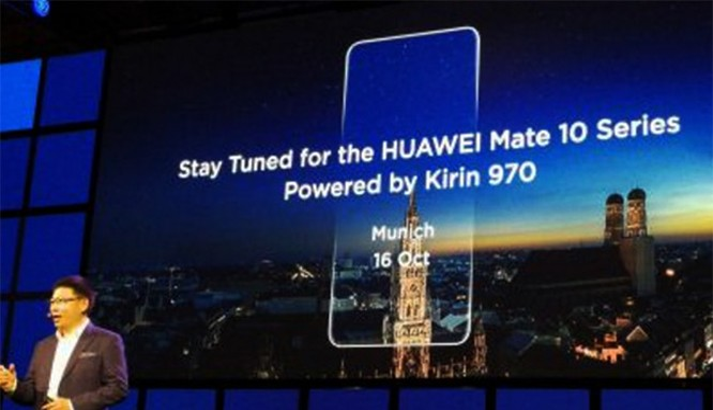 Ảnh dựng Huawei Mate 10 (YouTube)