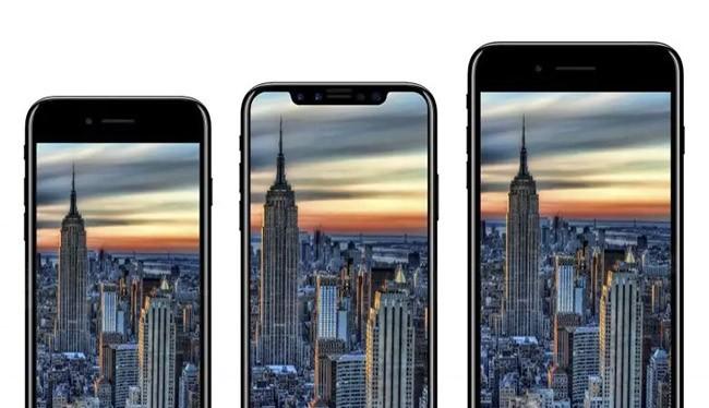 3 mẫu iPhone 2017 (ảnh: The Telegraph)