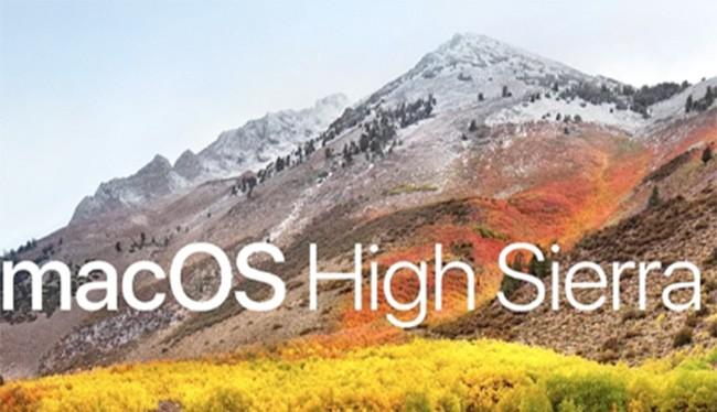 High Sierra (ảnh: Apple)