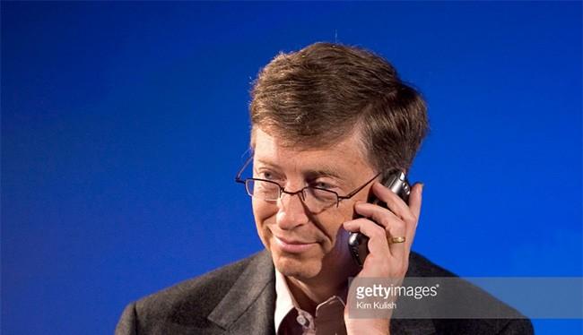 Tỷ phú Bill Gates vừa chuyển sang sử dụng điện thoại Android (ảnh: Getty Images)