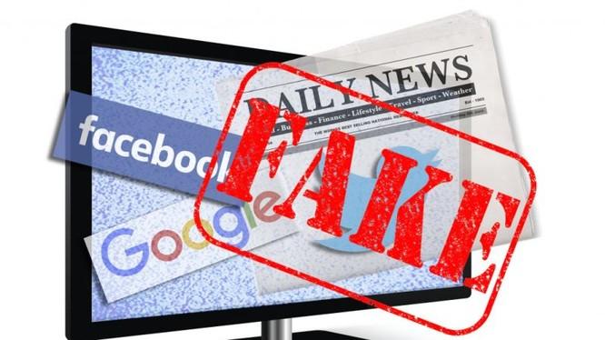 Tin giả là một vấn nạn khiến nhiều quốc gia lo ngại (ảnh: Yahoo)