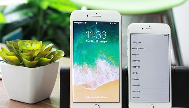 Bộ đôi iPhone 8 và iPhone 8 Plus