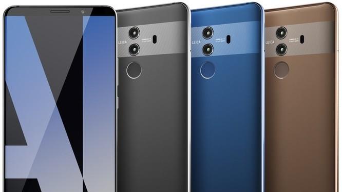 Huawei Mate 10 Pro (ảnh: Phone Arena)