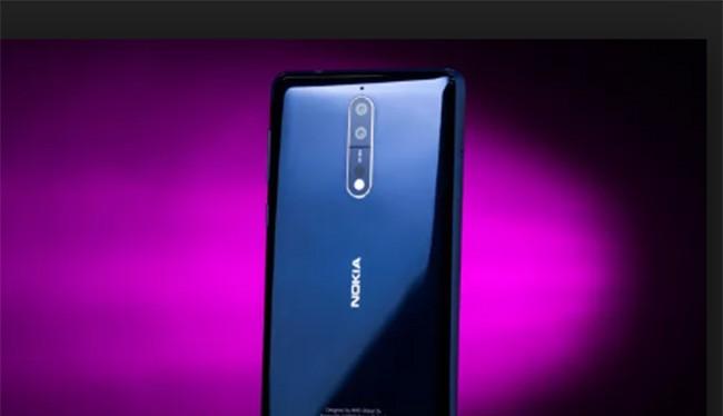 Nokia 8 - điện thoại cao cấp nhất của HMD Global (ảnh: CNET)
