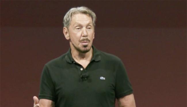 ông Larry Ellison, Chủ tịch kiêm Giám đốc điều hành Oracle (ảnh: Oracle)