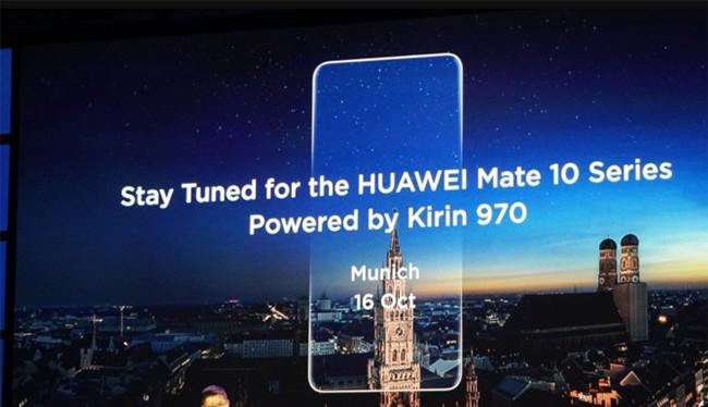 Dòng sản phẩm Mate 10 sẽ được Huawei ra mắt vào ngày 16/10 tới (ảnh: Android Authority)