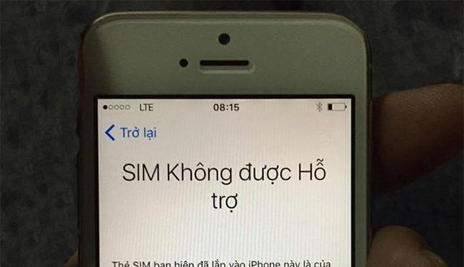 SIM ghép 4G không thể kích hoạt vào sáng 5/10 (ảnh: Facebook)