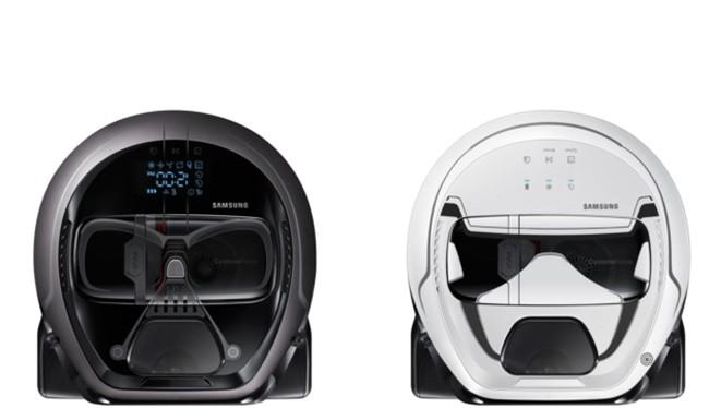 robot hút bụi của Samsung (ảnh: Samsung)