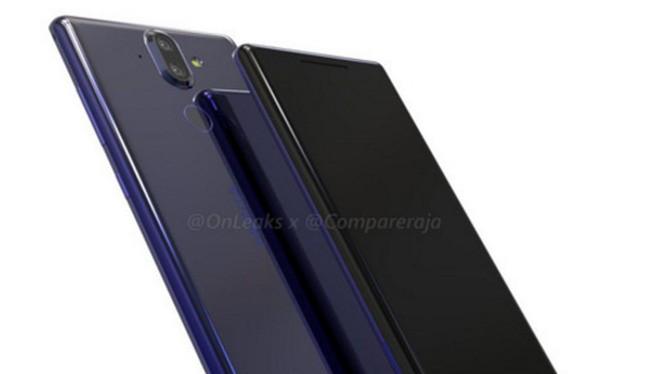 Nokia 9 (ảnh: OnLeaks)