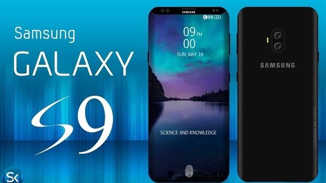 Galaxy S9 sẽ được trang bị cảm biến phân tích không khí? (ảnh: GalaxyS9.us)