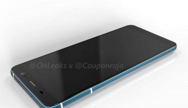 HTC U11 Plus (ảnh: OnLeaks)