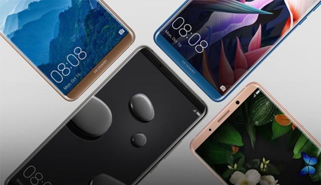 Các mẫu smartphone cao cấp của Huawei (ảnh: Phone Arena)