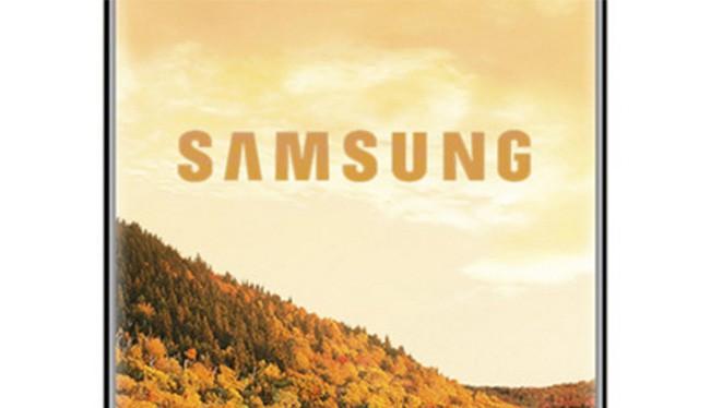 Galaxy S9 của Samsung sẽ có cái mấu phía dưới màn hình? (ảnh: Phone Arena)
