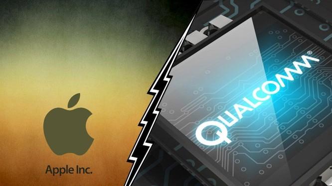 Mối quan hệ giữa Apple và Qualcomm đang rất căng thẳng (ảnh: Tech Juice)