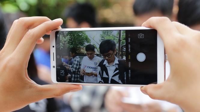 Trải nghiệm chụp ảnh với Oppo F5