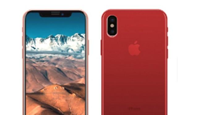Bạn có thích iPhone X có màu đỏ? (ảnh: Phone Arena)