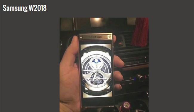 Flagship vỏ sò mới của Samsung đã lộ diện (ảnh: Phone Arena)