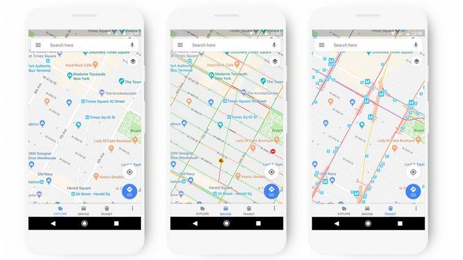 Google Maps sẽ được cập nhật giao diện mới trong một vài tuần tới (ảnh: Phone Arena)