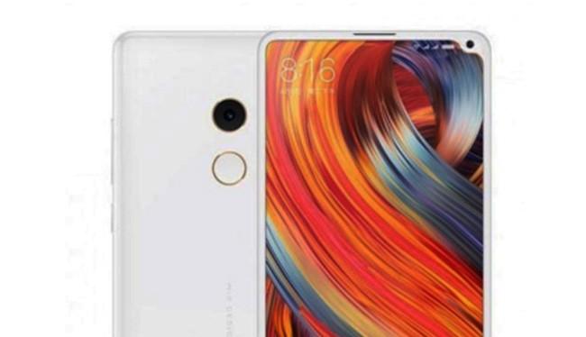 Mi Mix 2s có phải là thiết kế tối ưu cho smartphone? (ảnh: SlashLeaks)
