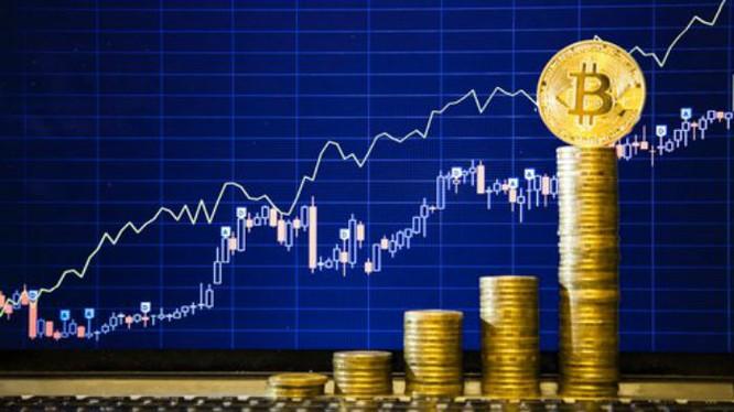 Giá Bitcoin đang tăng với tốc độ phi mã (ảnh: Fortune)