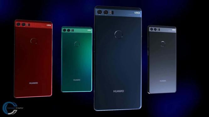 Ảnh dựng mô phỏng Huawei P11 (Android Headlines)