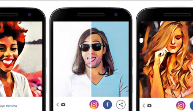 Ứng dụng Prisma cho phép bạn biến các tấm ảnh thành các tác phẩm hội họa nghệ thuật (ảnh: Phone Arena)