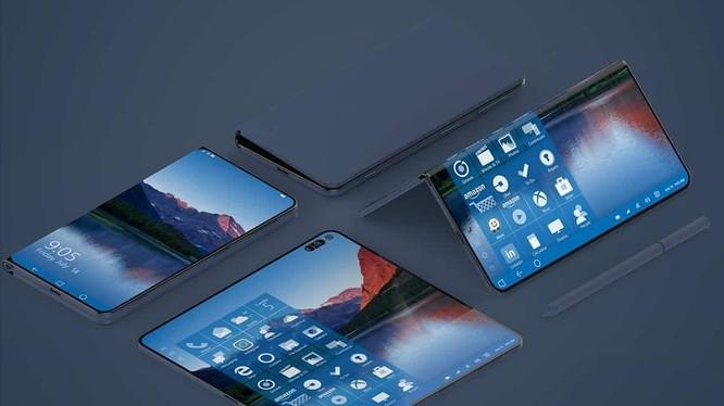 Đây chính là Surface Phone mà Microsoft đang bí mật phát triển? (ảnh: Windows Report)