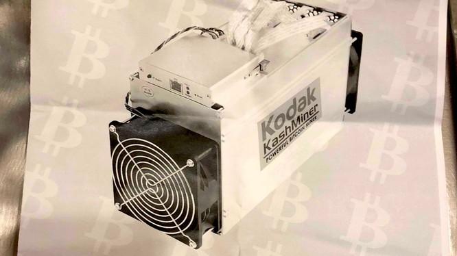 Máy đào tiền ảo Bitcoin của hãng Kodak (ảnh: Business Insider)