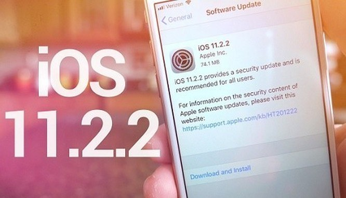 iOS 11.2.2 đang làm chậm các thiết bị iOS