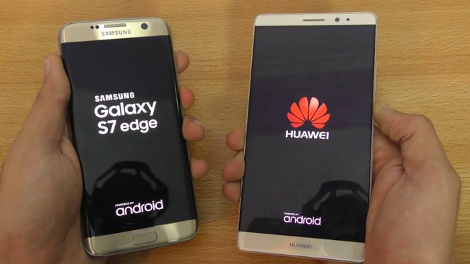 Samsung đã vi phạm hai bằng sáng chế về công nghệ 4G của Huawei (ảnh: YouTube)