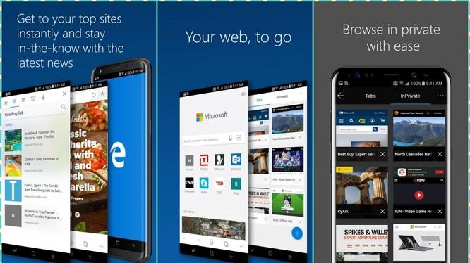 Trình duyệt Edge cho Android được bổ sung sức mạnh (ảnh: Android Soul)