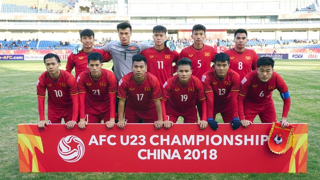U23 Việt Nam (ảnh: Goal.com)