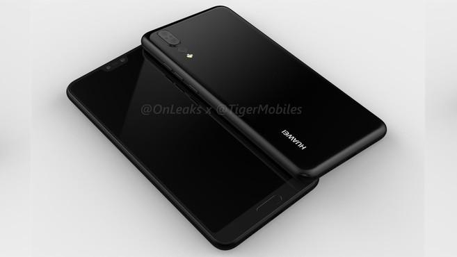 Huawei P20 (ảnh OnLeaks)