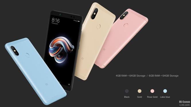 Xiaomi Redmi Note 5 Pro (ảnh Xiaomi)