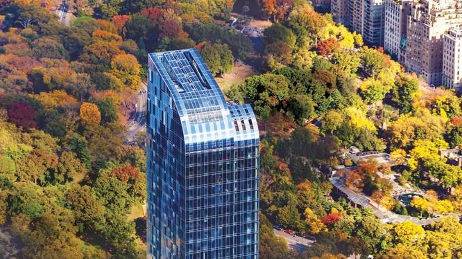 Căn penthouse của Michael Dell trị giá hơn 100 triệu USD nằm trong tòa cao ốc One57 (ảnh Business Insider)