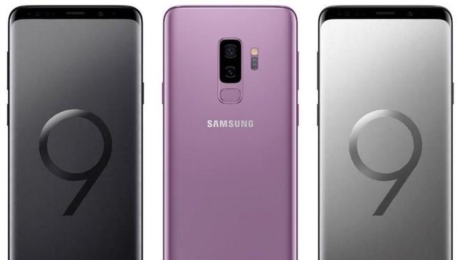 Samsung Galaxy S9 (ảnh thông cáo báo chí)