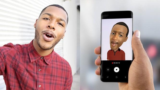 Tính năng tạo hình ảo (AR Emoji) của Samsung
