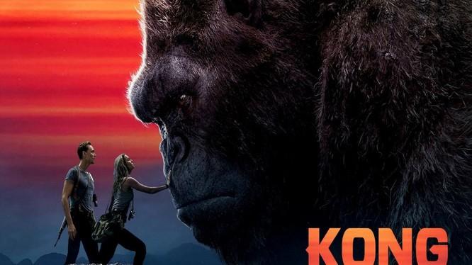 Kong: Skull Island, bộ phim có nhiều cảnh quay tại Việt Nam đã không giành được giải Oscar (ảnh Homeroom)