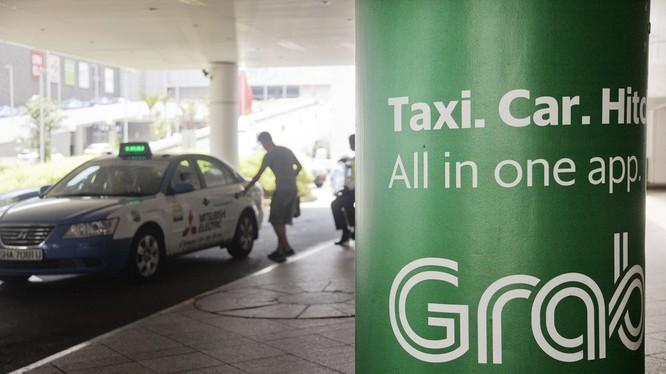 Grab sắp thâu tóm xong Uber Đông Nam Á (ảnh Bloomberg)