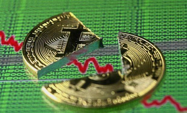 Giá Bitcoin vẫn đang tiếp tục giảm và mức giá này được cho là hòa vốn đối với các thợ đào coin (ảnh Star Online)