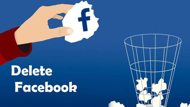 Bạn có thể xóa tài khoản Facebook nếu thấy chán ghét mạng xã hội