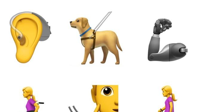 emoji mà Apple đề xuất (ảnh: emojipedia)