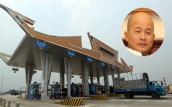 """Công ty Thái Sơn của ông Đinh Ngọc Hệ (biệt danh """"Út trọc"""" - ảnh nhỏ) có liên doanh trong dự án cầu Hạc Trì (Phú Thọ) - Ảnh: Trần Hùng"""