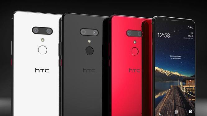 HTC U12+ (ảnh: Phone Arena)