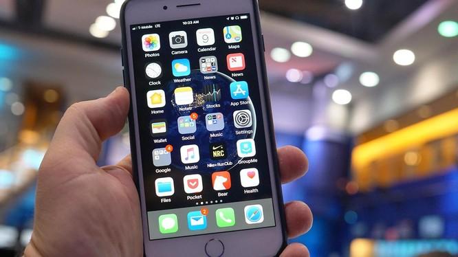iOS 11 cho phép bạn sắp xếp nhanh các app (ảnh: CNBC)