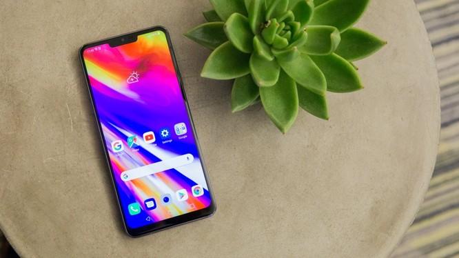 """G7 """"ThinQ"""" là smartphone cao cấp của LG"""